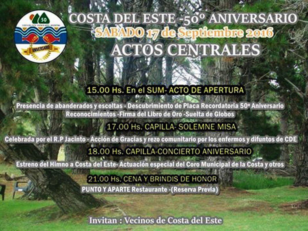 Costa del Este 50 aniversario