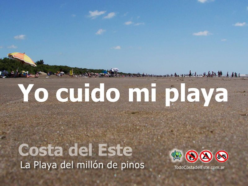 """cuidado playa 2016 6 """"Yo Cuido mi Playa"""" (gracias por difundir)"""