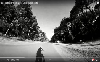 Una recorrida por Costa del Este en bicicleta