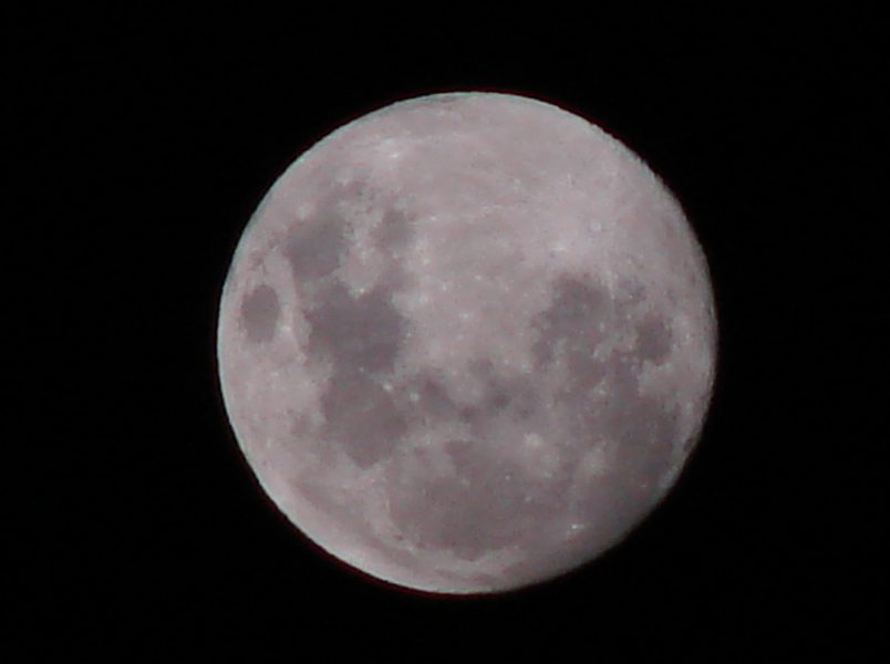 Luna llena en La Costa