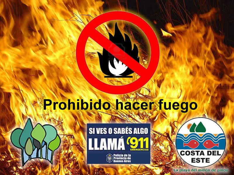 No hacer fuego