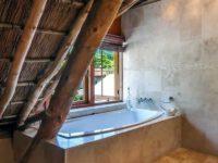 baño de una cabaña
